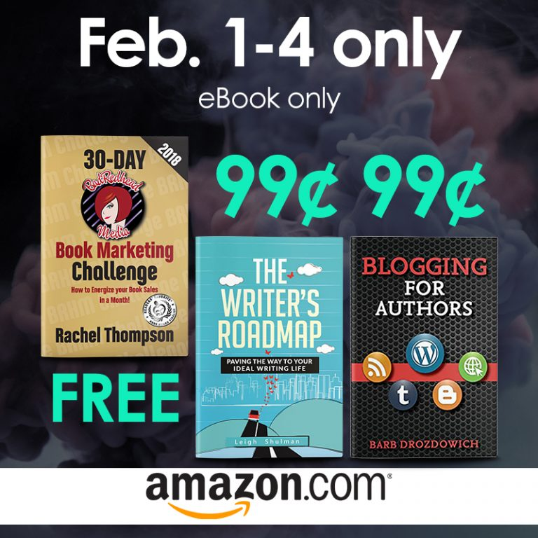 A Must-See Sale for Authors from Rachel Thompson, Leigh Shulman and Barb Drozdowich