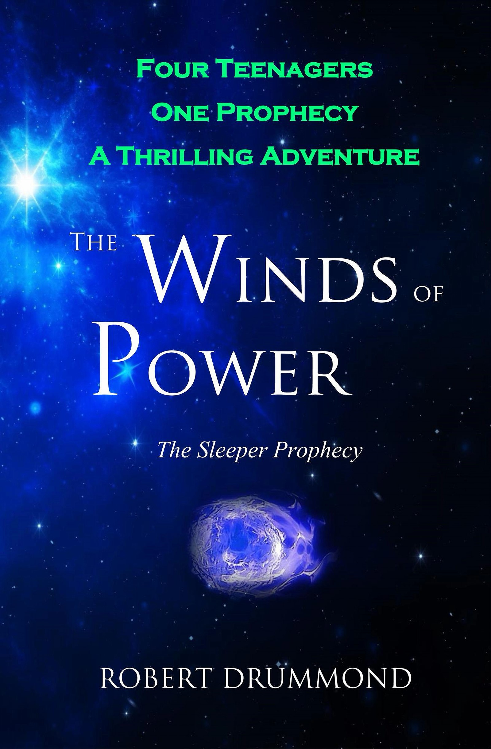 Book Feature: The Winds of Power – The Sleeper Prophecy